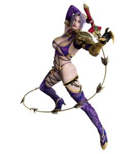 The sexualization inherent in the depiction of female video game characters like Ivy from the SoulCalibur series presents it's own obstacles.