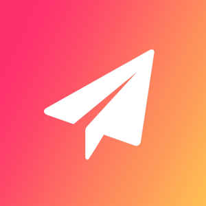 "Nothing says ""Hot New Social Media App!"" like clip art of a paper airplane."